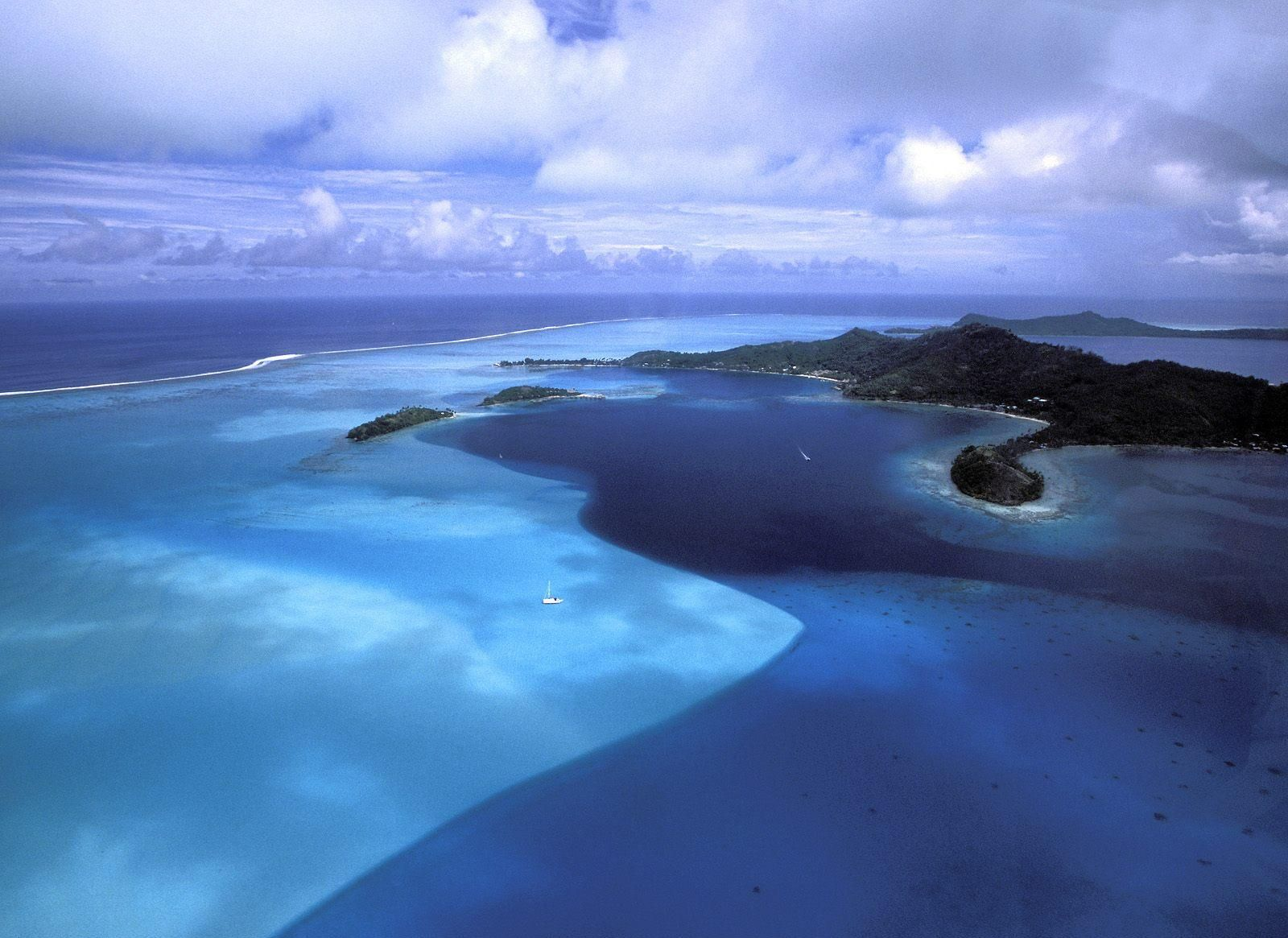 Blue Variation Bora Bora French Polynesia