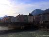Mariahilfstrasse along the Inn river in Innsbruck