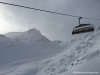 Ski area Stubaier Gletcher nearby Innsbruck