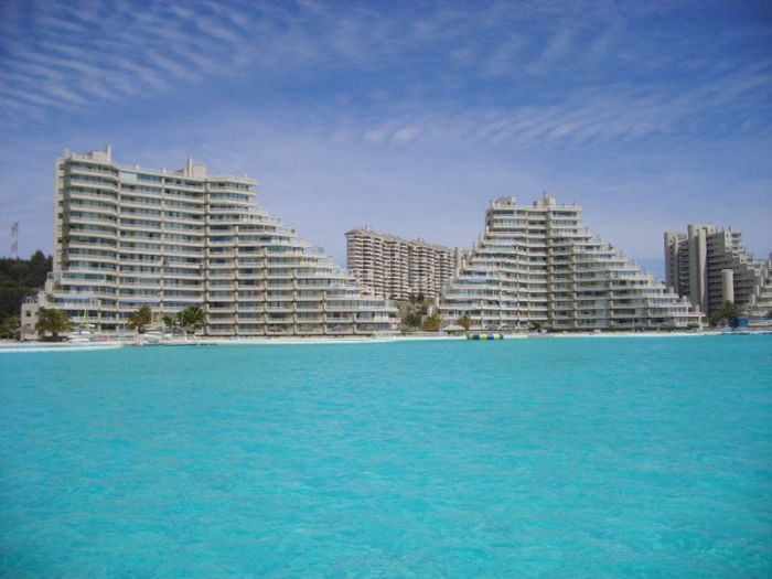 San alfonso del mar resort has the largest swimming pool in the world for San alfonso del mar swimming pool