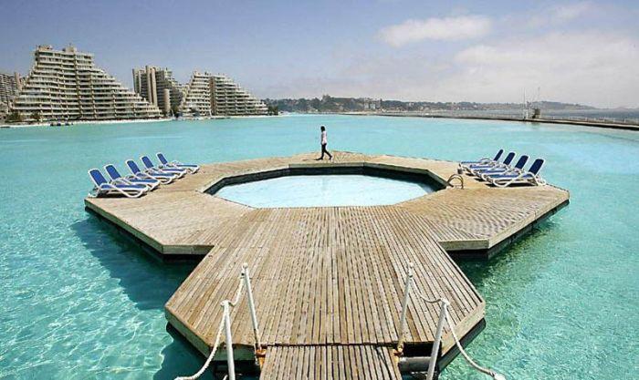 San alfonso del mar resort has the largest swimming pool - San alfonso del mar resort swimming pool ...