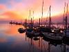 juneau-boat-harbor-at-sunset-alaska