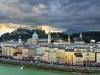 Center of Salzburg Austria