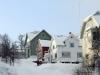 Houses in Tromso Norway
