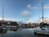 Harbor in Tromso Norway
