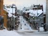 Main shopping street in Tromso Norway
