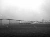 Large bridge in Tromso Norway