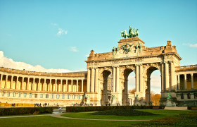 50th anniversary of Belgium independence Cinquantenaire monument