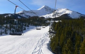 Top of the best places to ski- Big Sky, Montana
