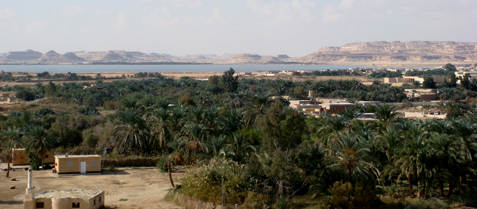 the Siwa oasis, Egypt