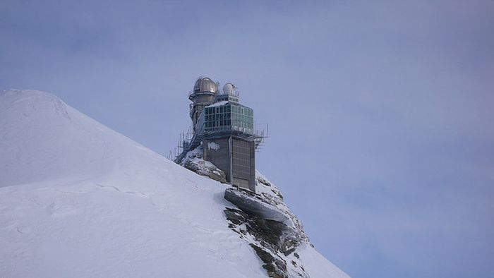 The Sphinx Observatory in Jungfraujoch, SwitzerlandAll About