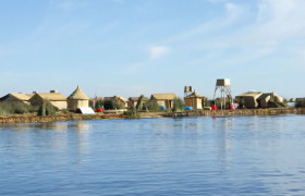 Floating Islands on Titicaca Lake