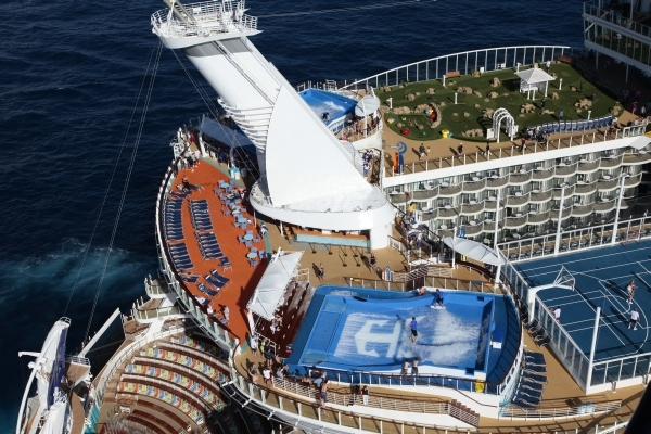 Allure Of The Seas The Largest Cruise Ship - Allure cruise ship