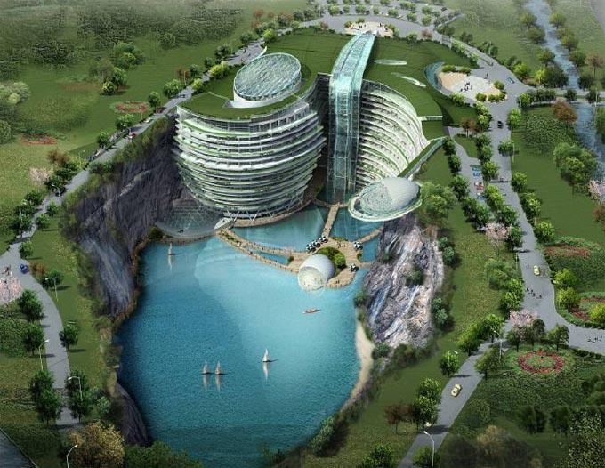 Įspūdingiausi ateities viešbučiai