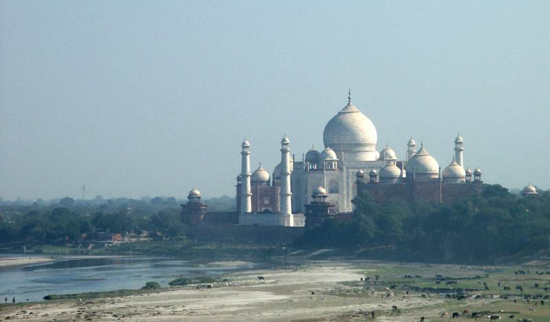 Travel to Taj Mahal, India